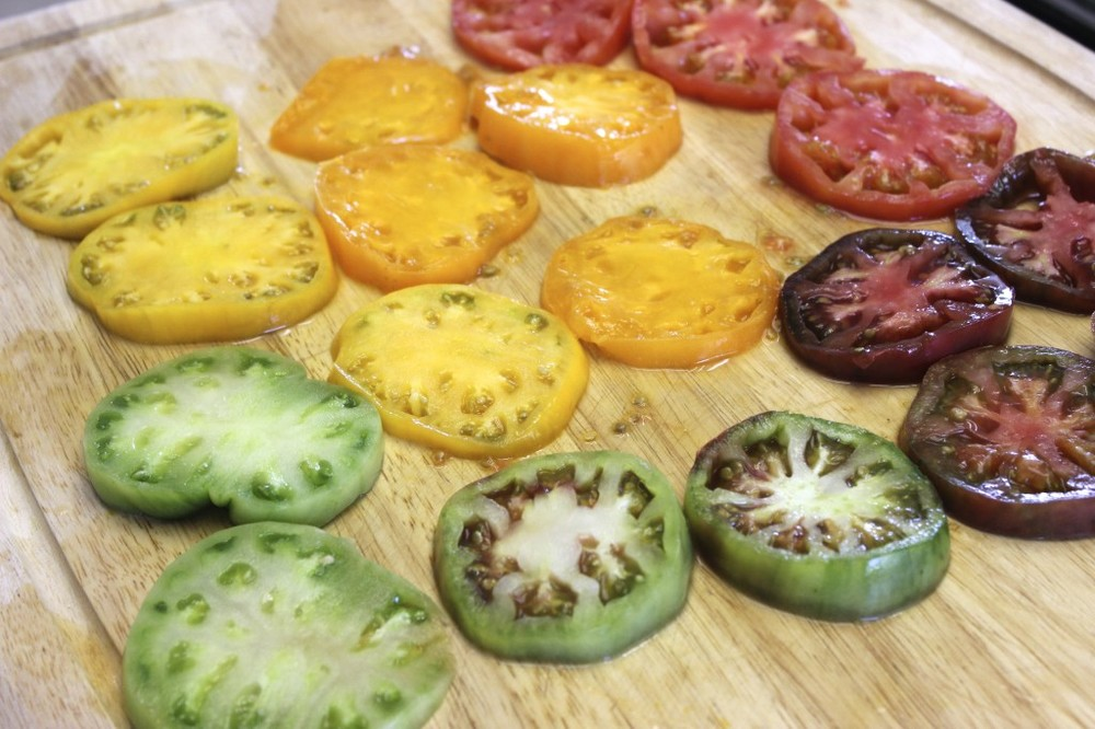 heirloom tomato tart 7