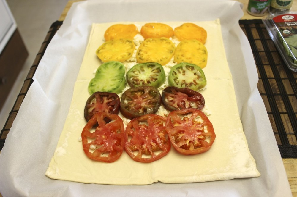heirloom tomato tart 16