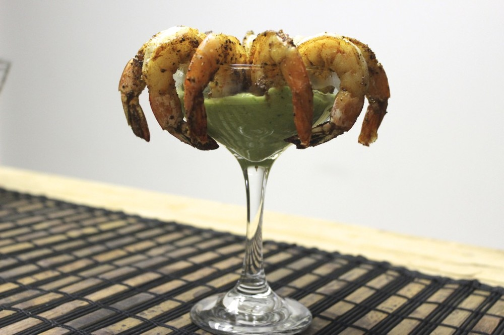 warm shrimp cocktail avocado dip 44