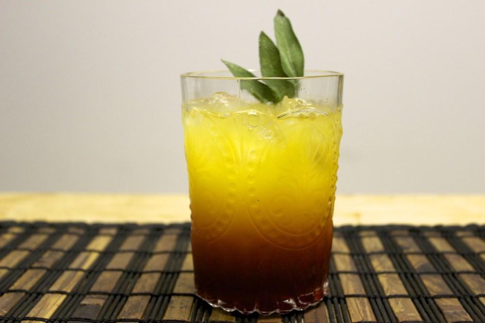 citrus sage sunset cocktail 88