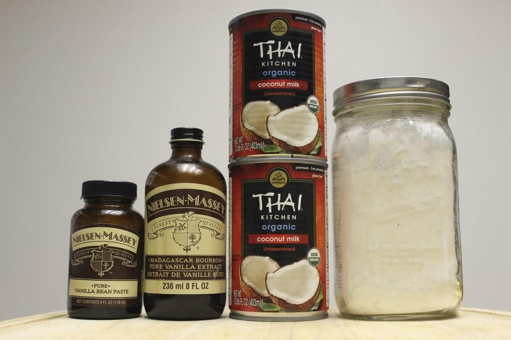 coconut vanilla ice cream non dairy vegan paleo gluten free 1