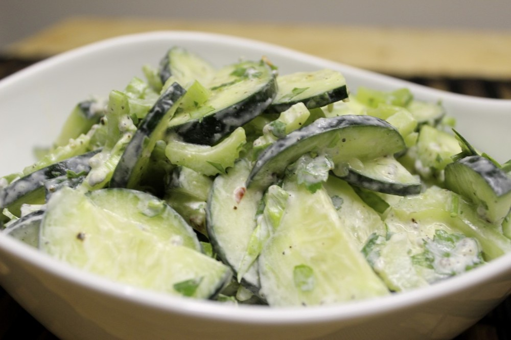 cucumber celery chive salad 39
