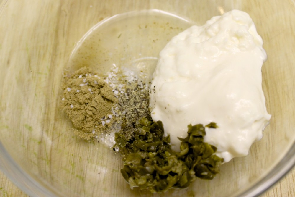 kale fish cakes ginger lime tartar sauce 18
