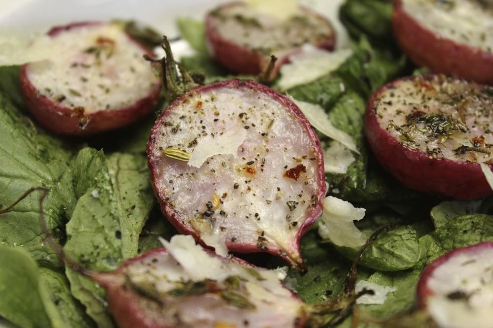 herb roasted radishes 71