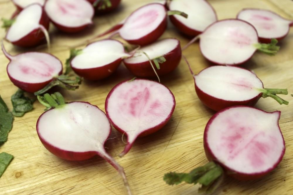 herb roasted radishes 19