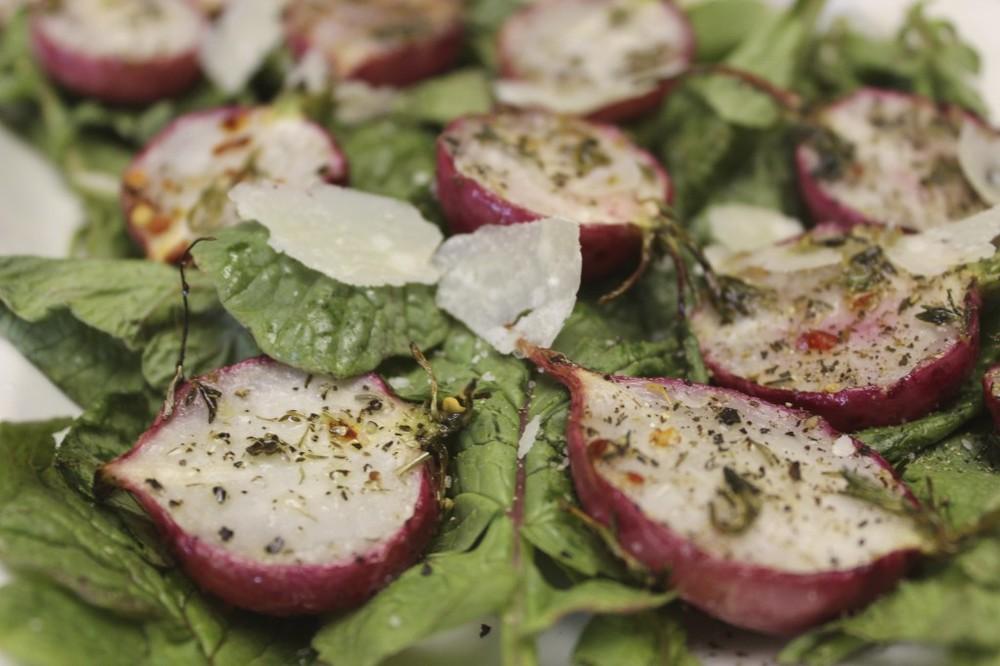 herb roasted radishes 63