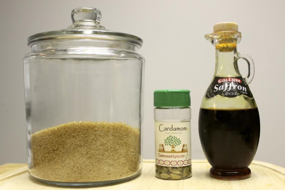 saffron cardamom syrup 3