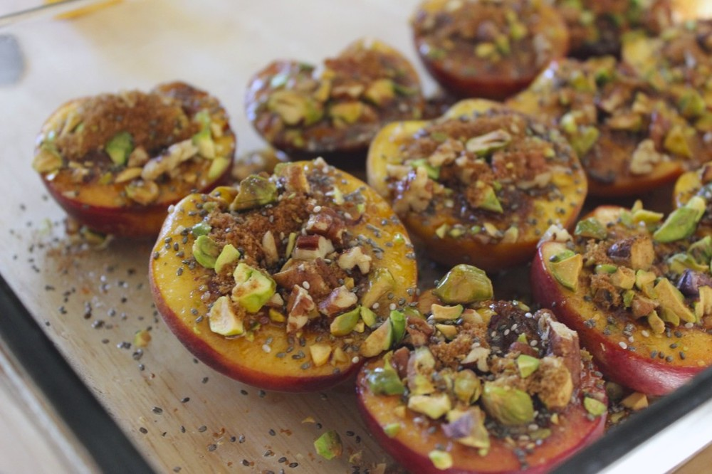 pale pistachio pecan peaches 25