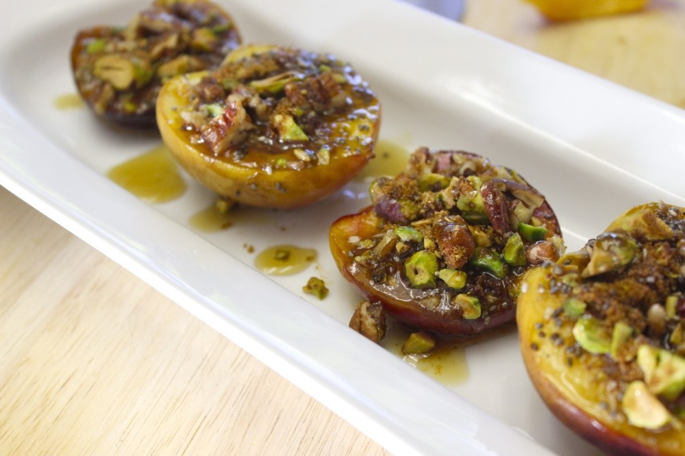 pale pistachio pecan peaches 31