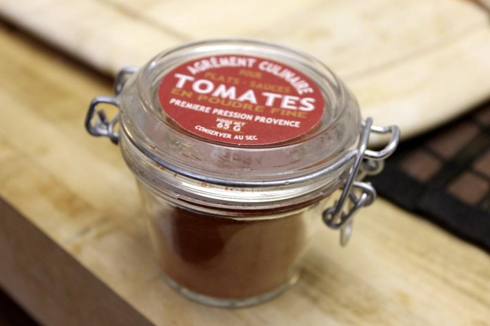 tomato powder chutney caviar 1