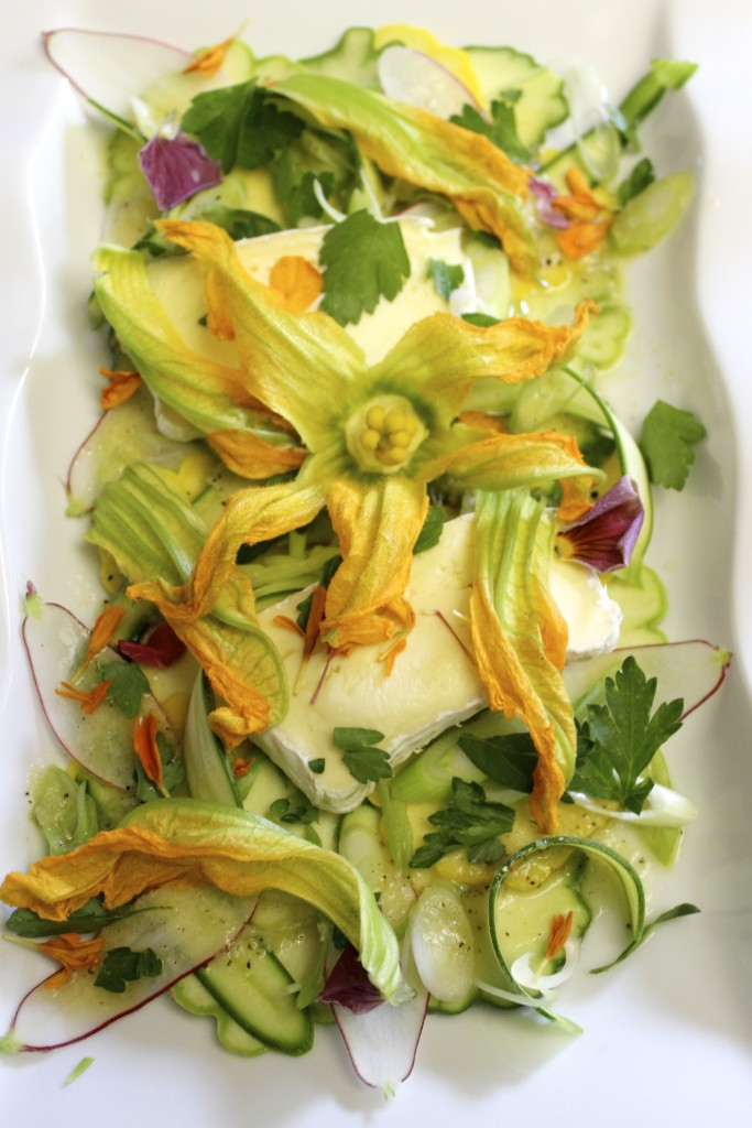 Raw Summer Squash Salad 76