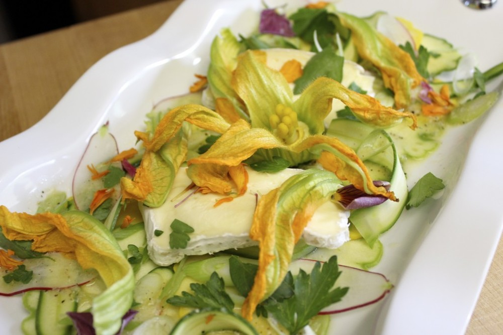 Raw Summer Squash Salad 82