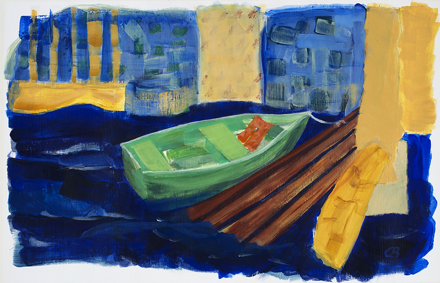 """Without a Lifejacket- 24X18"""" sold"""
