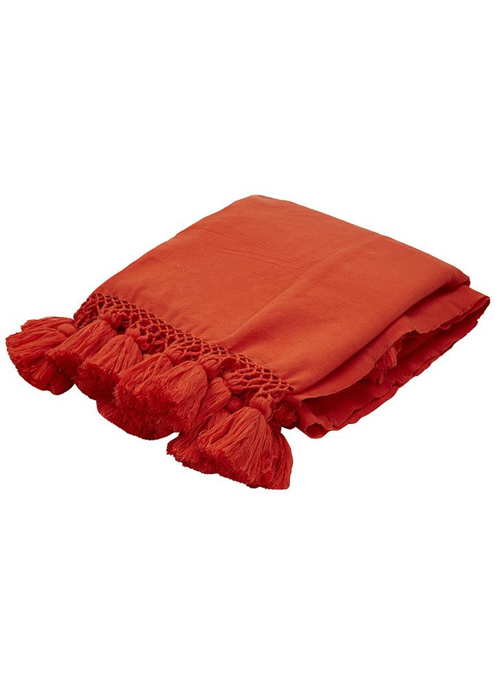 Kate Spade Tassel Throws  $119