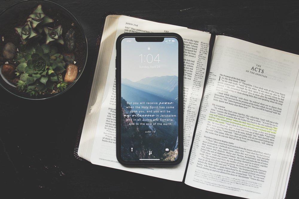 Scripture Memorization - Click for more information on our church-wide memorization project!