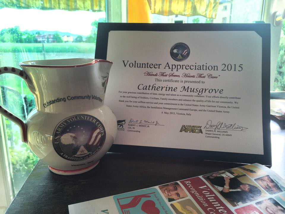 Volunteer Appreciation Awards!