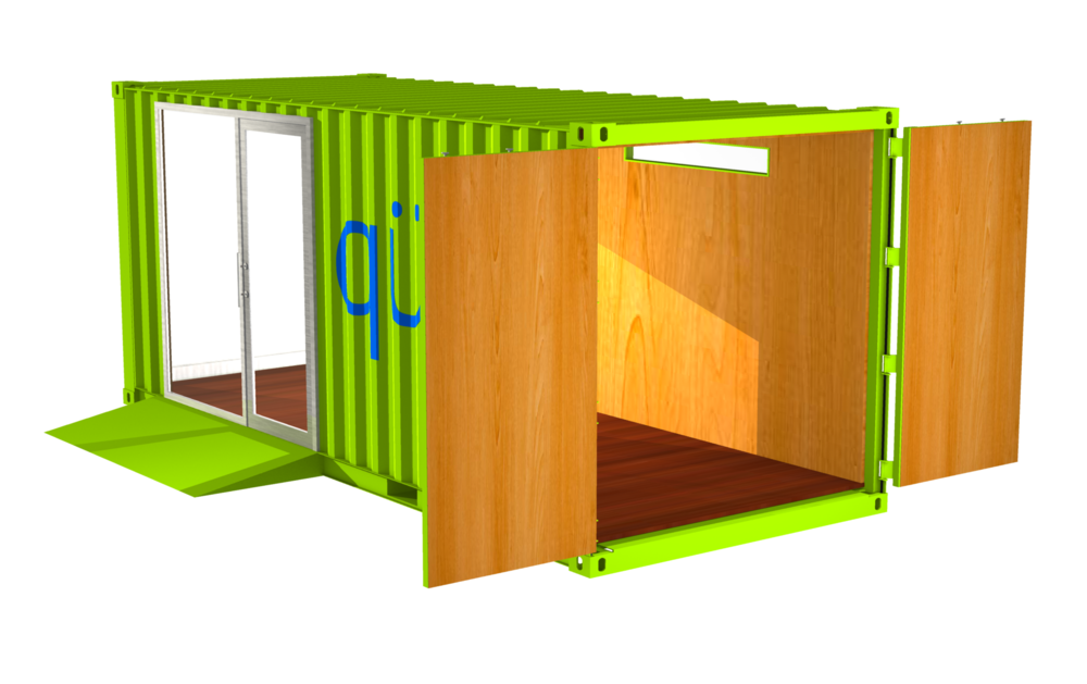 R3.3 RETAIL SERIES POP-UP SHOP W/ CARGO DOORS 160SF
