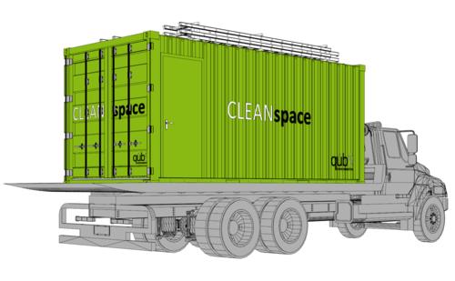 Cleanspace Portable Asbestos Decon Unit Trailer Sales Rental Qb9