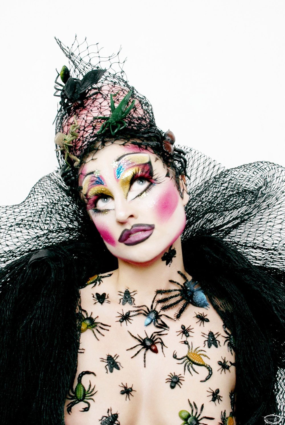 Kate Richards   (Makeup Designer) is a glamour and gore makeup artist, frequent traveler, and sporadic drag performer.