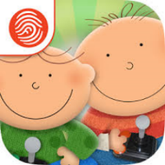 Ash & Ollie  (2014) Storybook app on Fingerprint Play network, iOS App Store and Google Play Winner, 2014 App of the Year Award, Creative Child