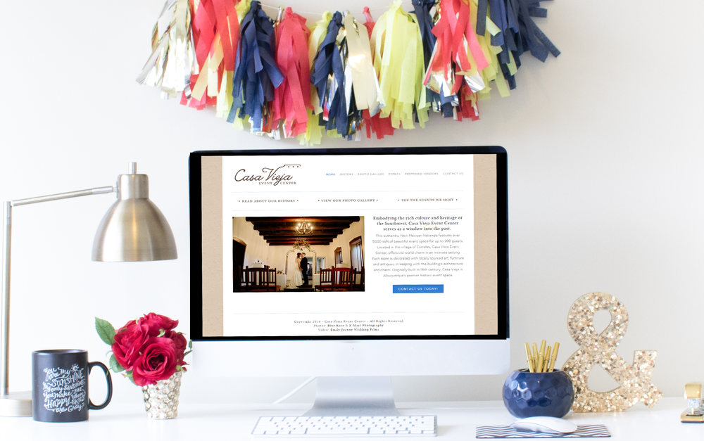 Website Design - Home Sweet Hyatt Studios | Cleveland Squarespace Web Designer