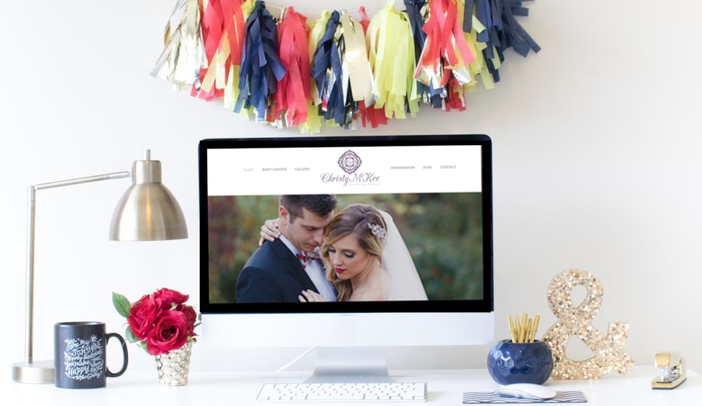 Squarespace Website Design | Home Sweet Hyatt Studios | Christy McKee Photography
