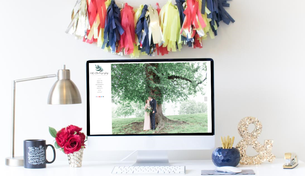 Squarespace Website Design | Home Sweet Hyatt Studios | 1783 Photography