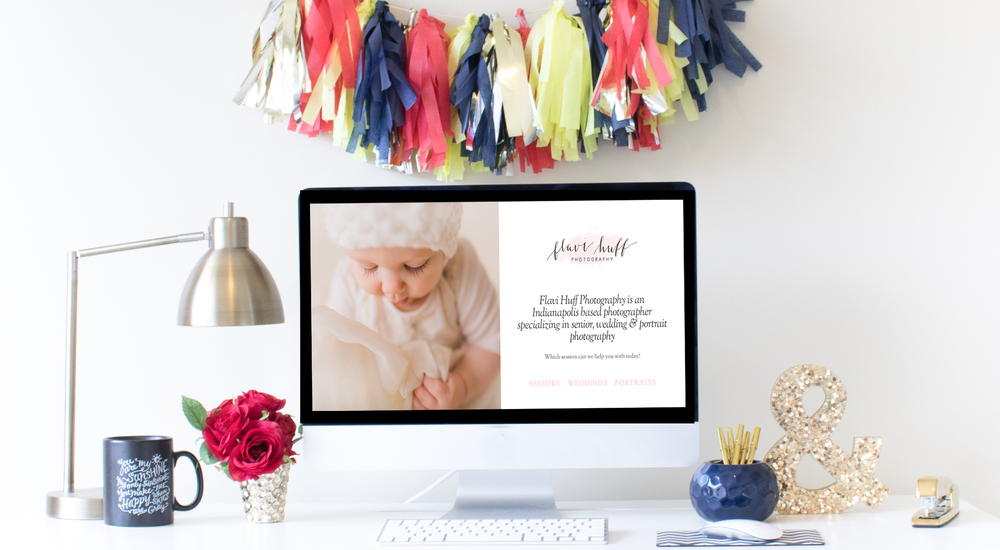 Squarespace Website Design | Home Sweet Hyatt Studios | Flavi Huff Photography