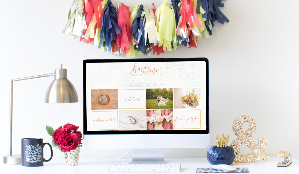 Squarespace Website Design | Home Sweet Hyatt Studios | Kara Evans Photography