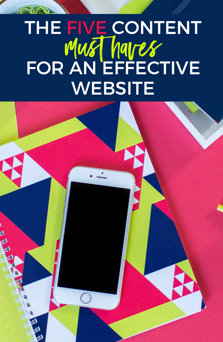 The FIVE Content Must Haves for an Effective Website | Home Sweet Hyatt Studios