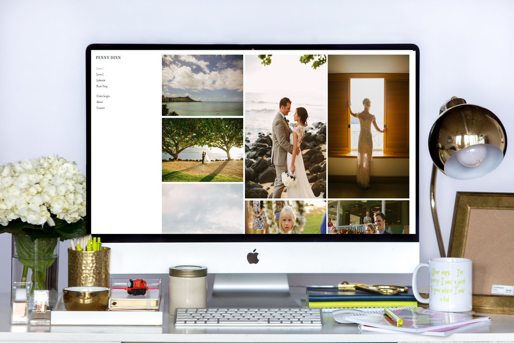 Penny Dinn is Live and Launched on Squarespace | Home Sweet Hyatt Studios