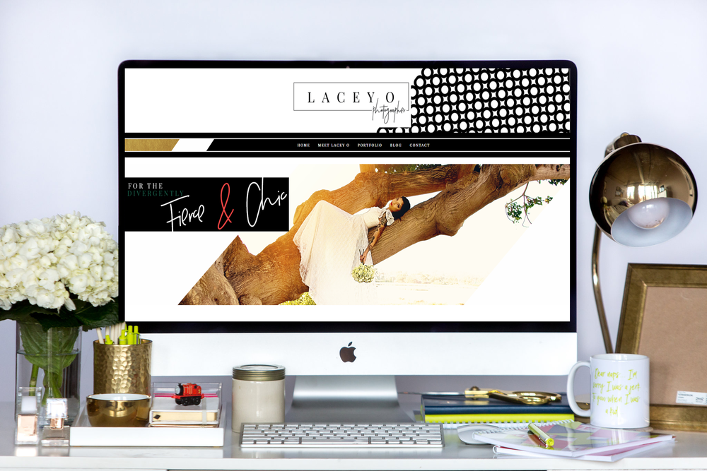 Lacey O | New Squarespace Website Launch!