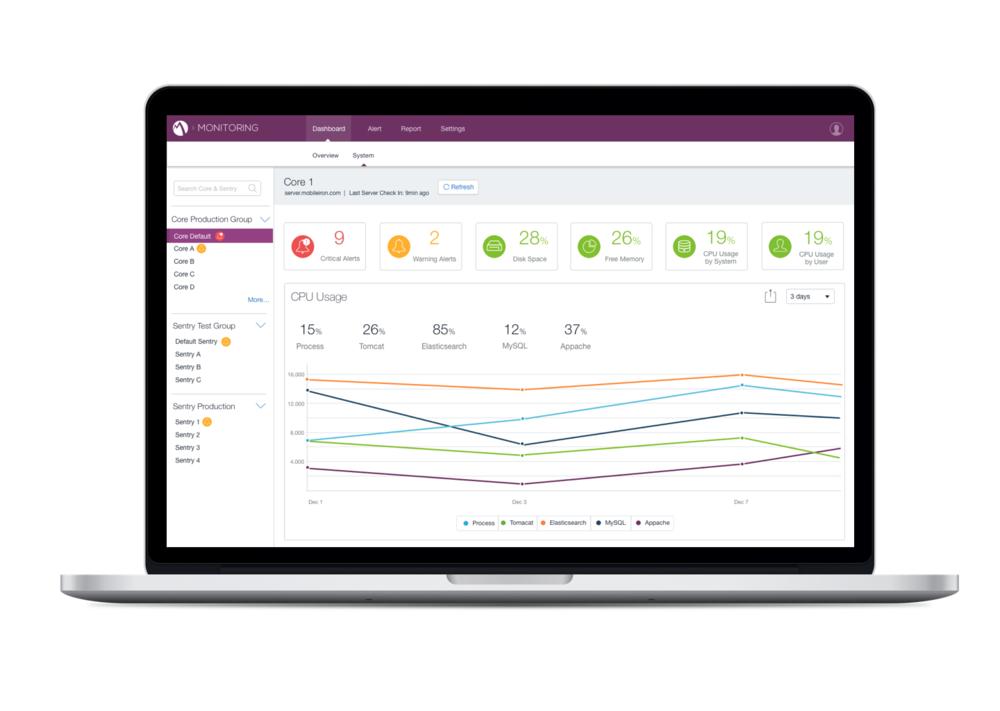 Monitor Web App