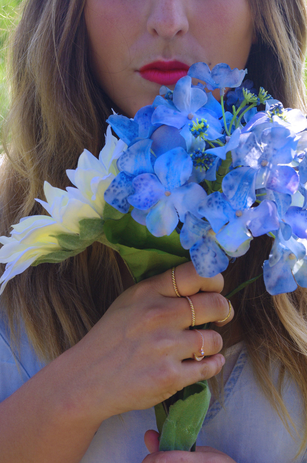 blue bells and lipstick