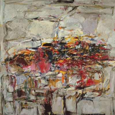 Joan Mitchell, City Landscape 1955