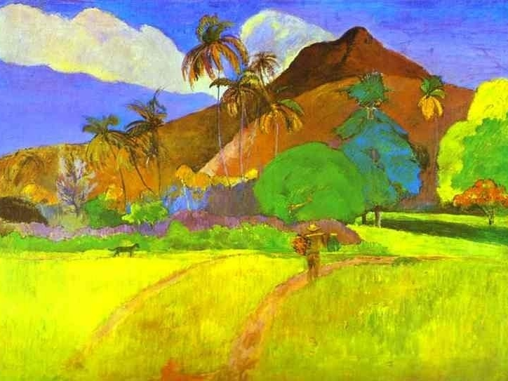 Paul Gaugin, Tahitian Landscape, 1891