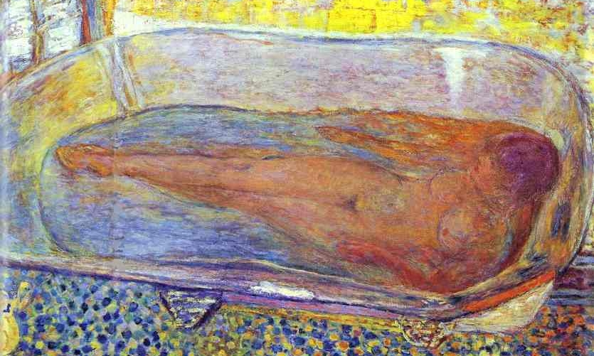 Pierre Bonnard, Bather 1935