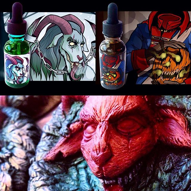 In keeping up with the Spring cleaning, the Krampus soap will be going back into the vault at the end of April! In addition, we won't be restocking the Headless Horseman and Krampus beard oils until September, so if you wanted to check them out, now is the time! We've only got 7 Krampus in stock and 14 Headless Horseman, so act quick! 💀💀💀 #beardoil #beard #beardstagram #beardcare #hairoil #krampus #headlesshorseman #halloween #horror #heavymetal #soap #vegan #vegansoap #veganbeard #veganbeardcare