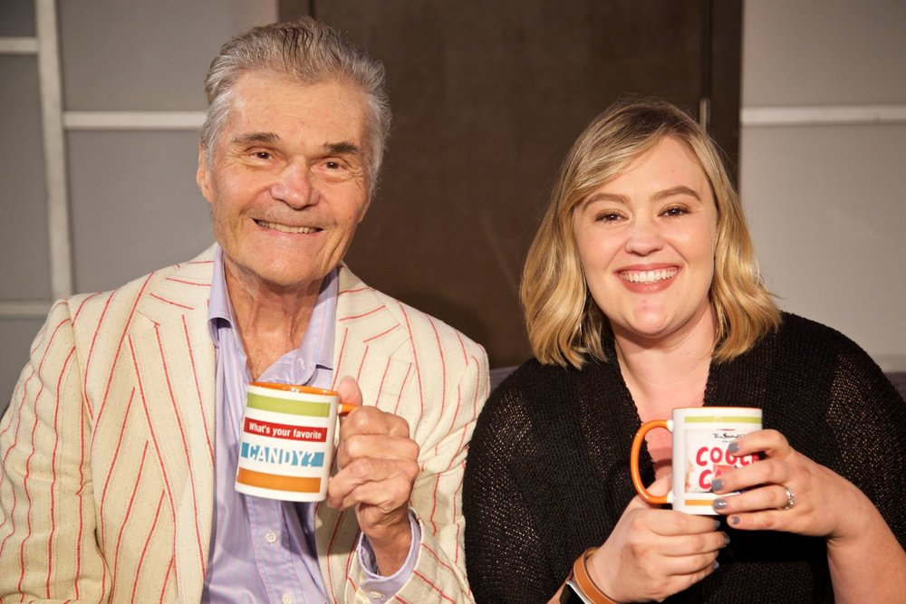 """Thanks, Jen, you're a great interviewer/moderator/actress/human being.""  ~Fred Willard"