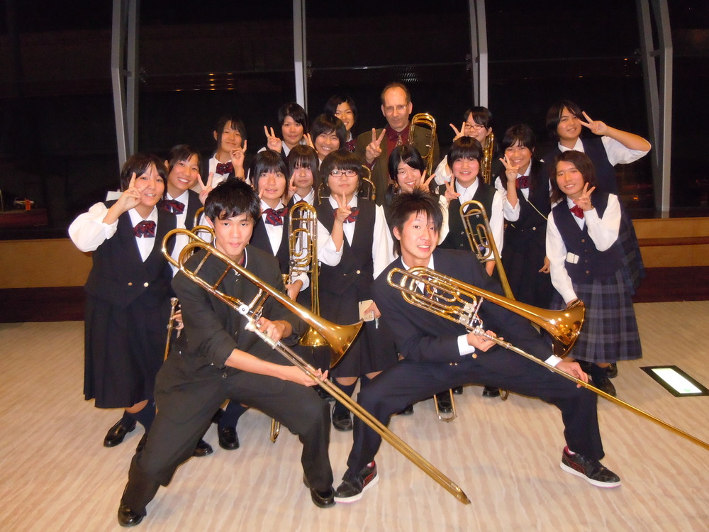 My cool class in Sasebo