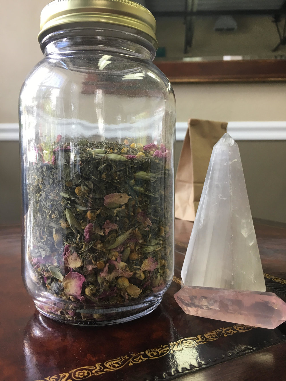 Nerve Relaxing Tea Blend - available by the ounce