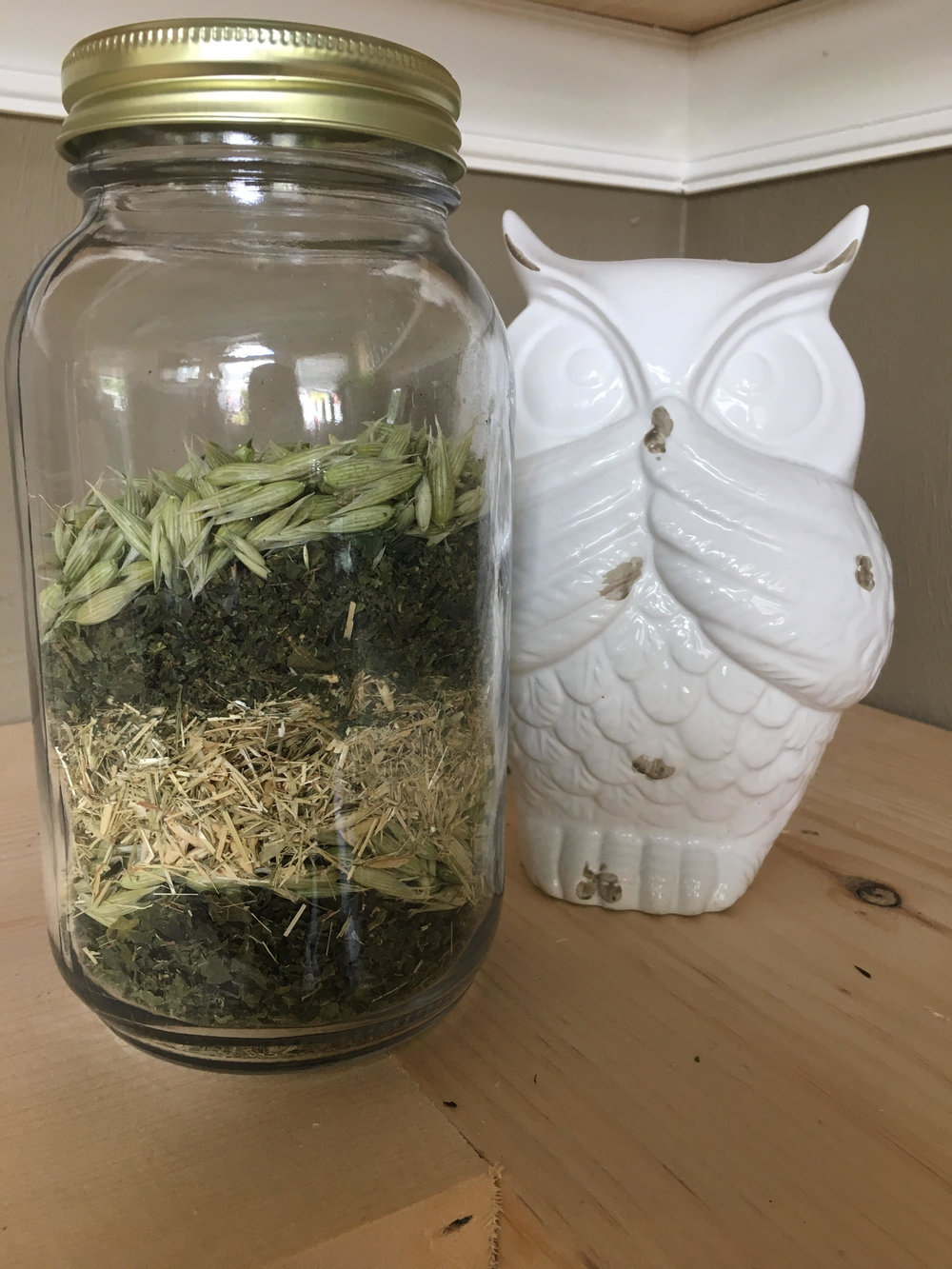 High Calcium Tea Blend, available by the  ounce