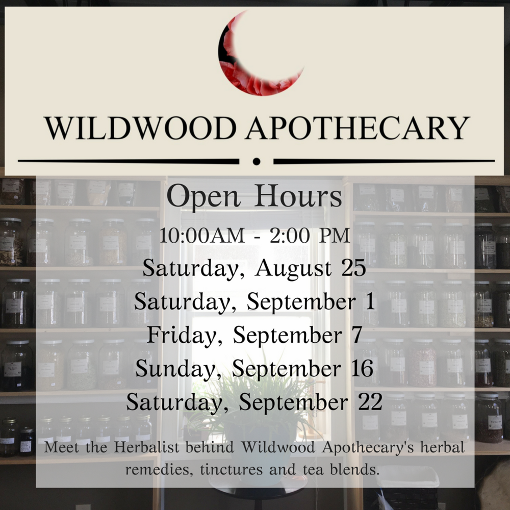 The Herbalist is in!Apothecary Open Hours (1).png