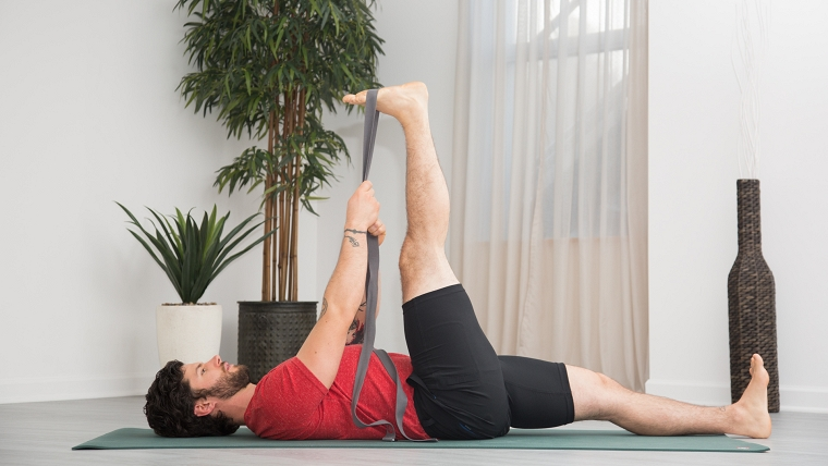 - Yoga for Men: A Floor Sequence to Relieve Moderate Low Back Pain