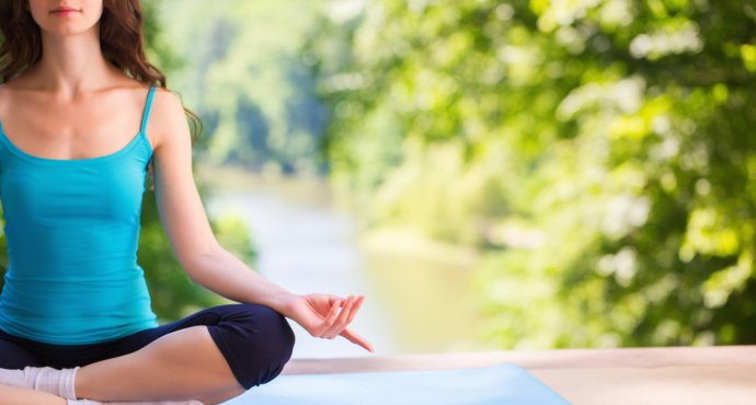 How Yogic Breathing Brings Relief from Stress -