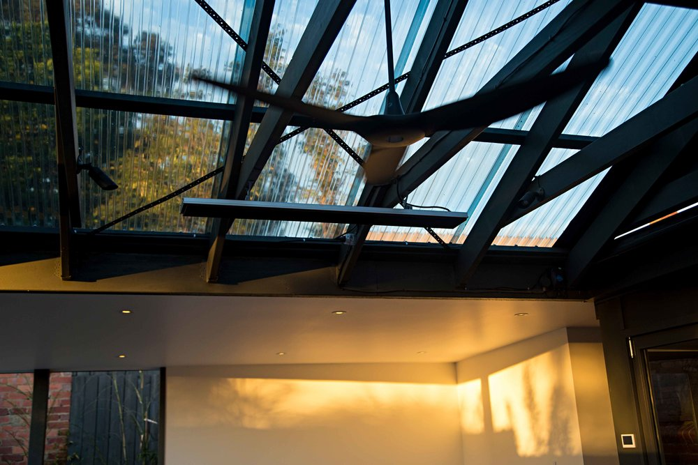 Outdoor Ceiling Fan installation, Ivanhoe, Melbourne