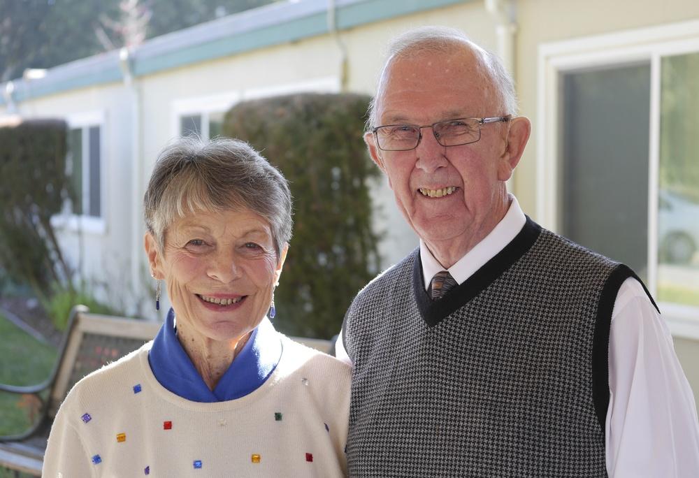 Marie and Bert Van Antwerpen