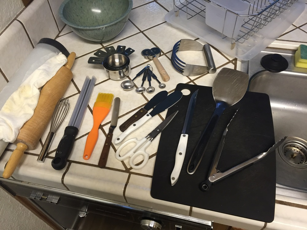 pie making tools