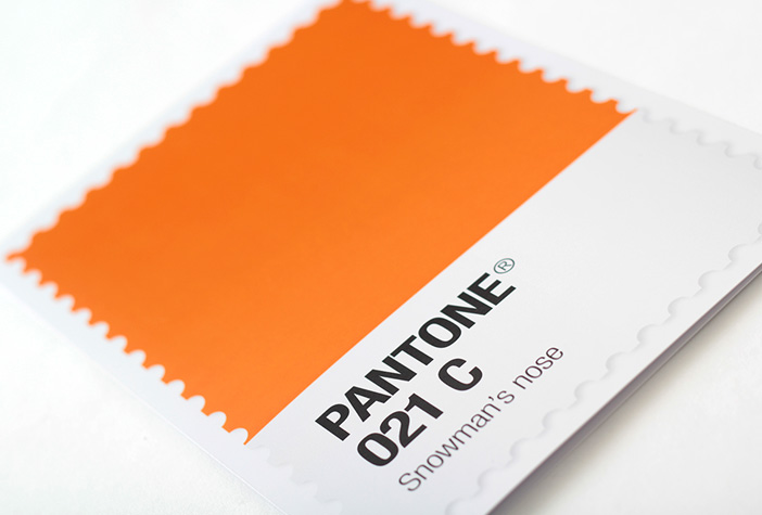 The colours of Christmas are pure Pantone®