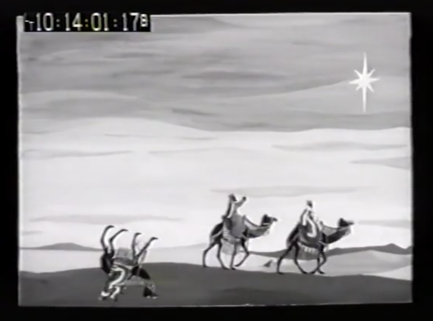 An accident in the desert captured on CCTV